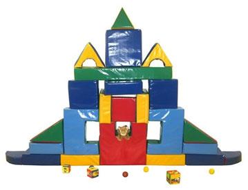 Мягкий конструктор для детского сада